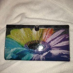 Handbags - Rainbow sunflower clutch